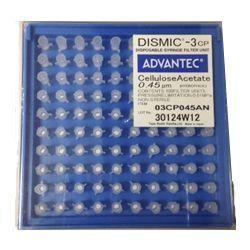 Filtro de seringa-MFS-3 não estéril Acetato Celulose 3mm x 0,45µm