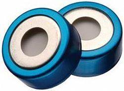 Lacre magnético bi-metálico CRIMP+septo PTFE/Silicone MONTADO