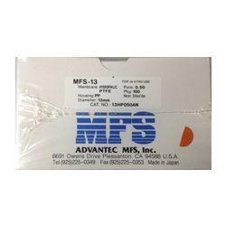 Filtro seringa MFS-13 não estéril PTFE Hidrofílico 13mm x 0,50µm