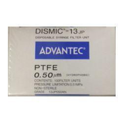 Filtro seringa MFS-13 não estéril PTFE Hidrofóbico 13mm x 0,50µm