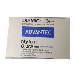 Filtro de seringa-MFS-13 não estéril Nylon 13mm x 0,22µm
