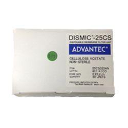 Filtro de seringa-MFS-25 não estéril Acetato Celulose 25mm x 0,20µm