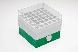 Rack de armazenamento para tubos cônicos 15ml, 36 posições com tampa (2 unid)