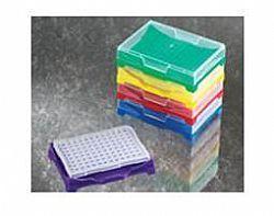 Rack para 96 tubos 0,2ml, microplaca 96 posições, com tampa (1 unid)