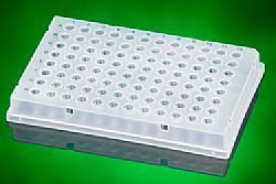 Microplaca para PCR borda inteira,incolor,96 x 0,2mL Ultraflux
