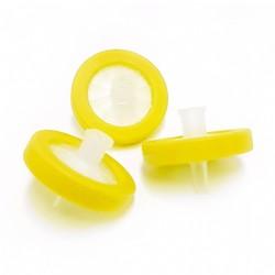 Filtro de seringa-PTFE Hidrofílico pré-limpo 25mm x 0,22µm