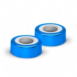 Lacre magnético crimp, 20mm, sem septo