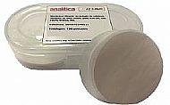 Membrana Acetato Celulose, 47mm, 0,45 µm, branca, lisa. Pacote com 100