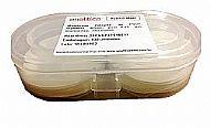 Membrana PVDF, 47mm, 0,45um, branca, lisa.Pacote 100.